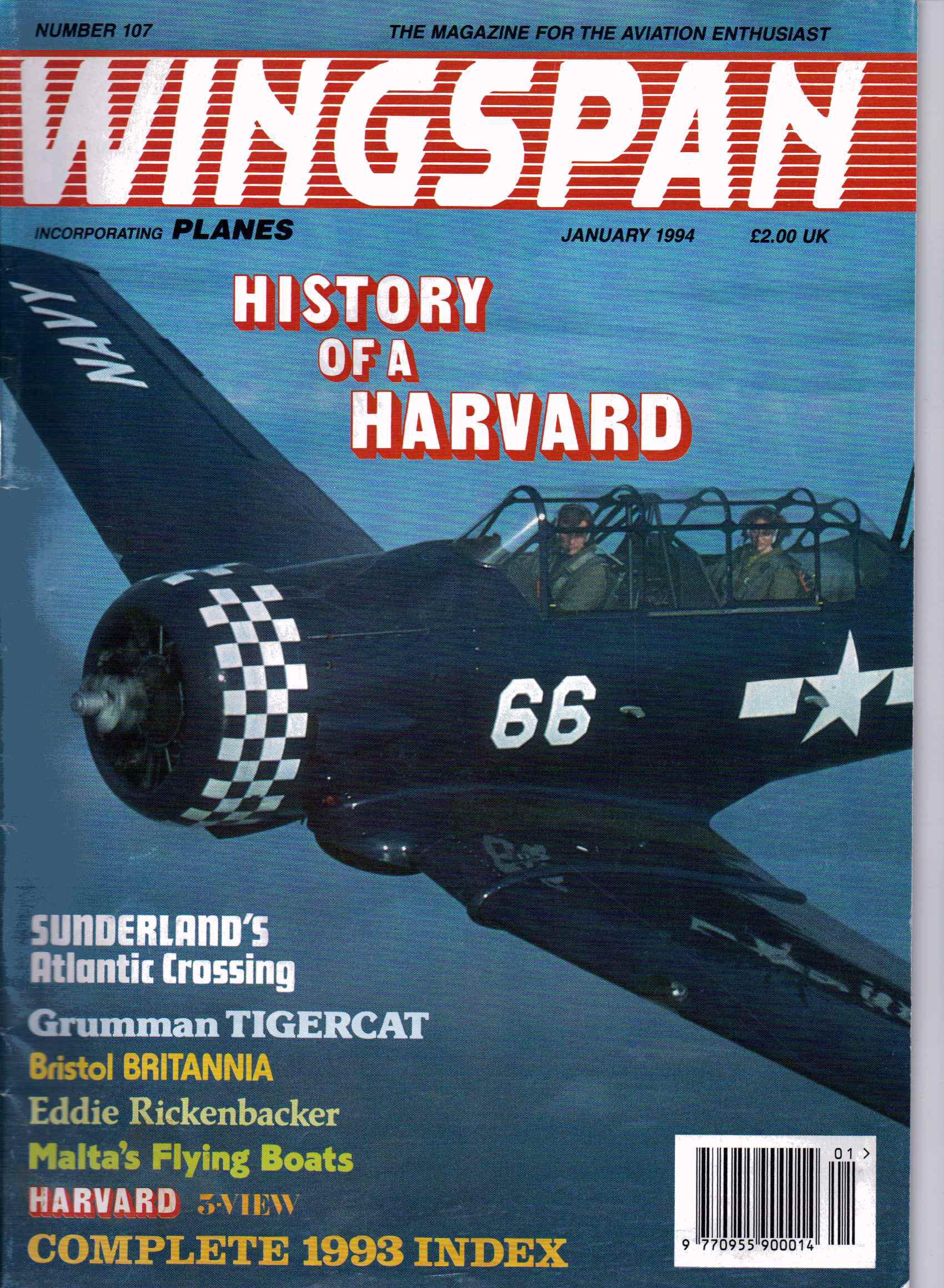 Wingspan magazine harvard