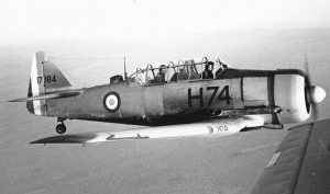 French Air Force Harvard Mk.4 51-7184