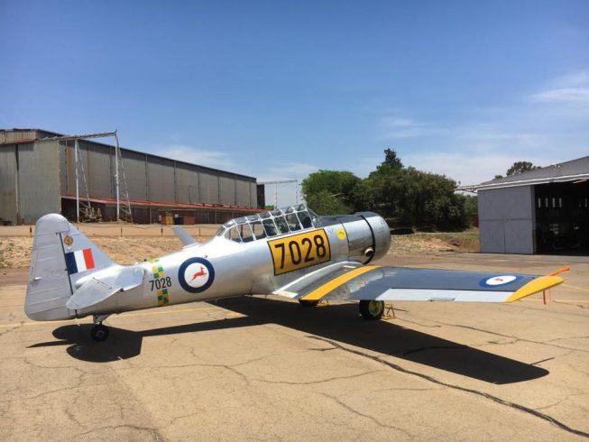 South African Harvards - T6 Harvard Aviation T6 Harvard ...