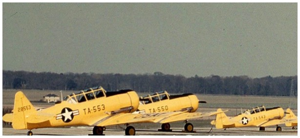1953 - Original USAF colour scheme when it rolled out of the factory as 52-8543 and CCF4 - 464