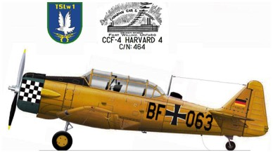 1957 - USAF 52-8543 Joins the German Luftwaffe - AA+068