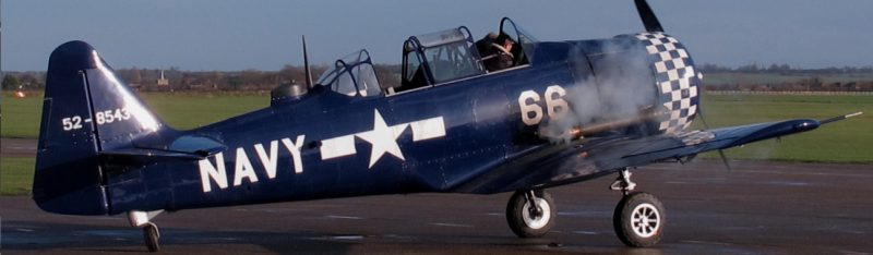 how to fly a harvard