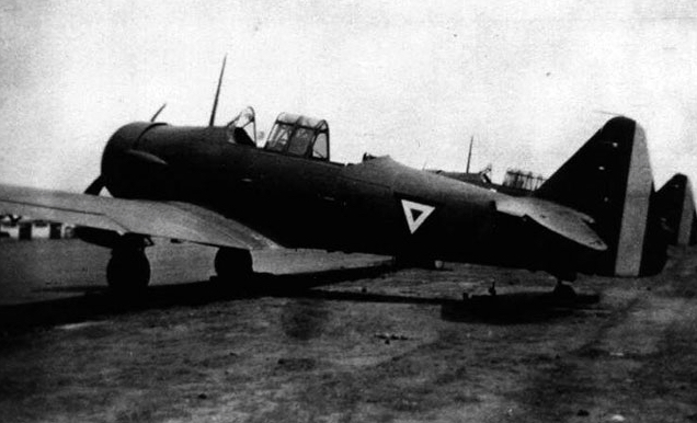 AT-6B - Loaded with bombs at the Tuxpan forward operating base in 1942 Photo: Enrique Velasco's collection