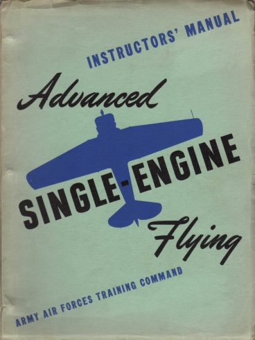 Flying instructor manual 1945